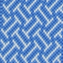 Bretels smal blauw patroon