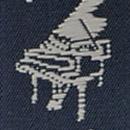 Bretels Music Maestro blauw