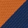 Stropdas oranje gestreept