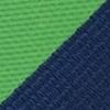 Stropdas groen gestreept