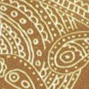 Sir Redman luxe bretels Paisley Sketch oker