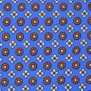 Pochet Tiny Flower blauw