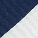 Pochet uni donkerblauw