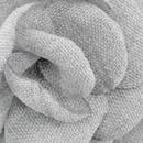 Revers pin Linnen Look grijs
