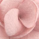 Revers pin Linnen Look roze