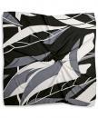 Sjaal patroon grijs wit