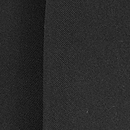 Sjaal zwart uni