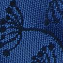 Sir Redman strik Botanical Flow kobaltblauw