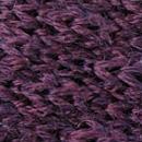 Strik gebreid wol aubergine