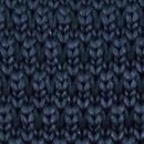 Stropdas gebreid donkerblauw