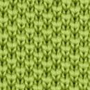 Stropdas gebreid limegroen
