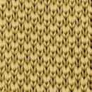 Sir Redman gebreide stropdas mosterd