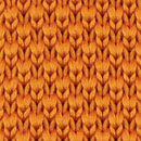 Stropdas gebreid oranje
