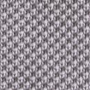 Stropdas gebreid grijs