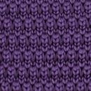 Stropdas gebreid paars