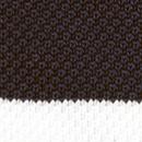 Stropdas gebreid zwart streep