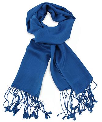 Pashmina kobaltblauw