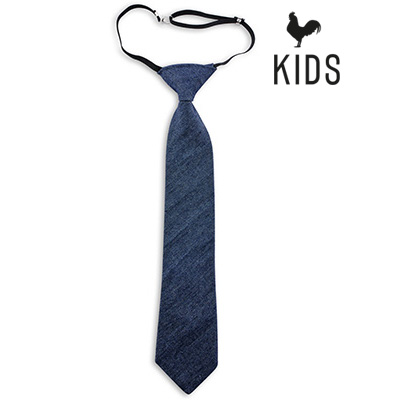 Sir Redman denim kinderstropdas blauw