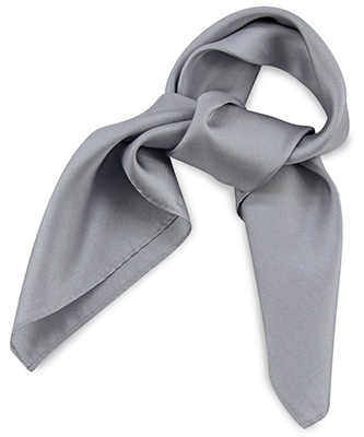 Sjaal zijde grijs