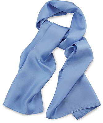 Sjaal ijsblauw uni