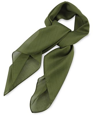 Sjaal legergroen