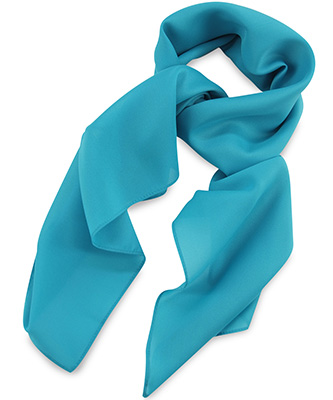 Sjaal turquoise