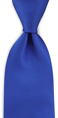 Stropdas kobaltblauw
