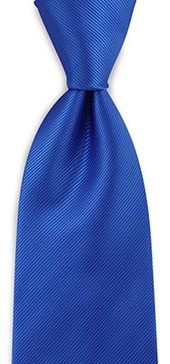 Stropdas kobaltblauw repp