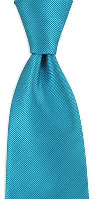 Stropdas turquoise repp