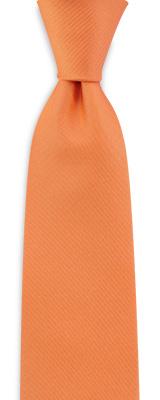 Stropdas oranje smal