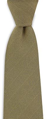 Stropdas zijde wol visgraat