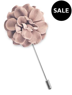 Revers pin bloem Pale Mauve